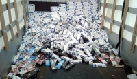 Vanda 100 bin 500 paket kaçak sigara ele geçirildi