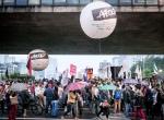 Sao Pauloda hükümet karşıtı gösteri