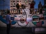 """Gazzenin """"gülen yüzü"""" çamaşır ipinde sergileniyor"""