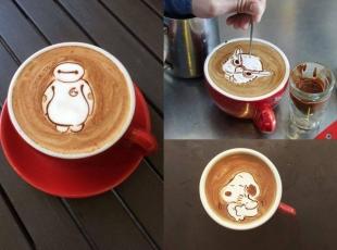 Kahve üstü sanat eseri
