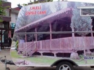 Fındığı tanıtmak için karavanıyla tura çıktı