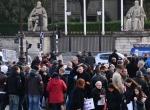 Fransada polisler yine meydanlardaydı