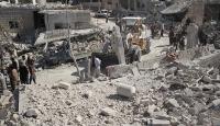İdlibde bir okulun bombalanmasında 22 çocuk öldü