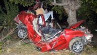 Tekirdağda trafik kazası: 1 ölü