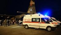Musulda yaralanan IKBY mensupları Türkiyede tedavi ediliyor
