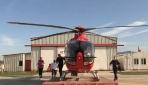 Hava ambulans ekibinin zamanla yarışı