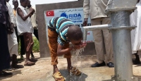 Sudanda Kahraman Şehit Ömer Halisdemir su kuyusu açıldı