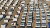 İHH Musuldan kaçan mültecilere çadır kent kuracak