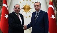 Cumhurbaşkanı Erdoğan, Letonyanın Ankara Büyükelçisi Elfertsi kabul etti