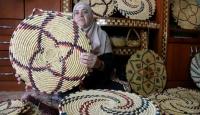 Filistinli Nazmiyenin geçim kaynağı hasır zanaatı