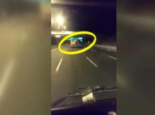Tehlikeli kamyon kullanan şoför gözaltına alındı