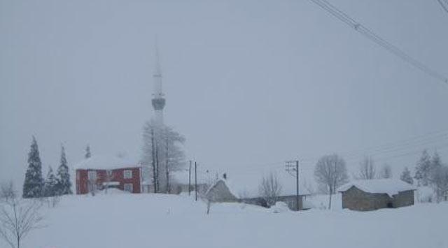 Rize Yine Kar Yağışlı
