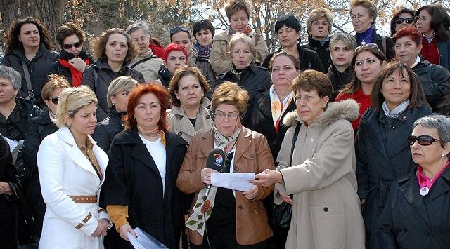 Meclis Önünde 4+4+4 Protestosu