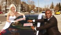 Letonyalı Gelinle Kongolu Damat Ankara'da Evlendi