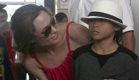 Angelina Jolie'ye Şok