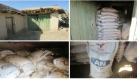Diyarbakırda 157 ton amonyum nitrat ele geçirildi