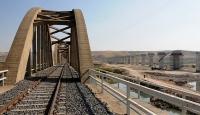 Güneydoğunun en uzun demiryolu viyadüğü yapılıyor