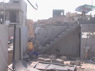 Kerkükte sivilleri hedef alan hava saldırısı