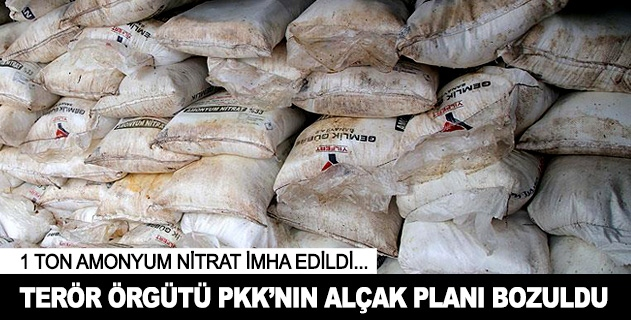 PKKnın alçak planı bozuldu