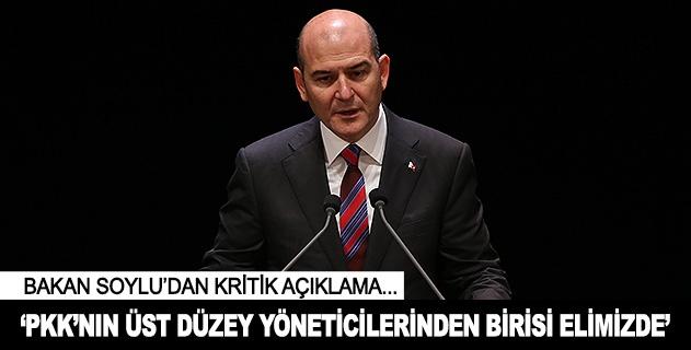 PKKnın üst düzey yöneticilerinden birisi elimizde