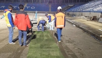 Akyazı Stadında sona yaklaşıldı