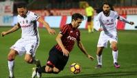 Beşiktaş galibiyet serisini sürdüremedi