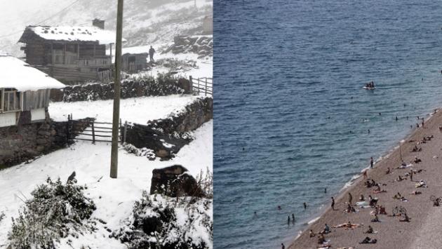 Doğuda kar, Batıda bahar