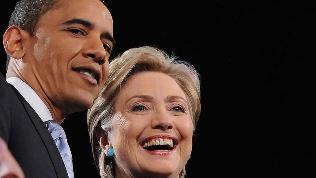 Obama, Clinton için oy istedi