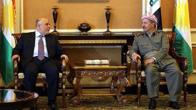 Barzani ve İbadi Musulu görüştü