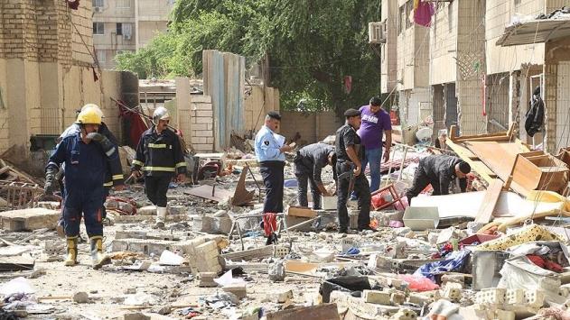 Bağdatta patlamalar: 7 ölü, 31 yaralı