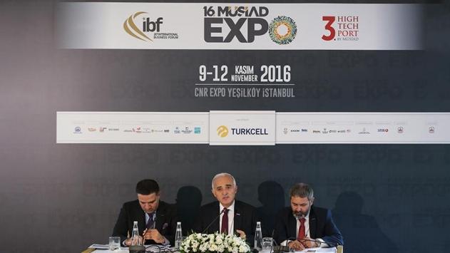 MÜSİAD EXPO 700 şirkete ev sahipliği yapacak