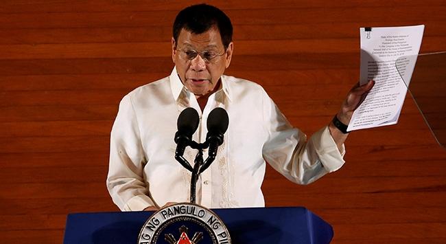 Duterte: Benim sabrımı sınamayın