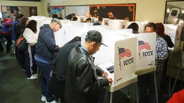 ABD başkanlık seçiminde oy verme işlemi başladı