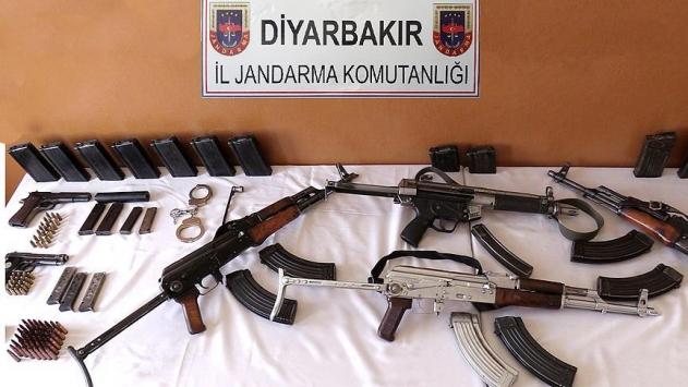 PKKya ait çok sayıda mühimmat ele geçirildi