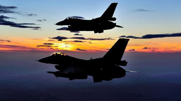 Türk jetleri El-Babda DEAŞ hedeflerini vurdu