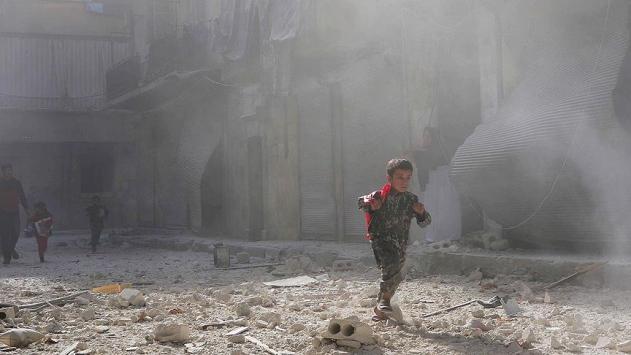 Esed, çatışmasızlık bölgesini bombaladı: 7 ölü