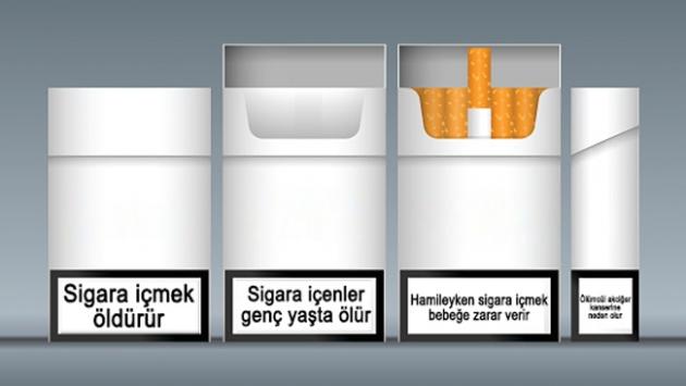 Sigaraya düz paket ile ilgili görsel sonucu