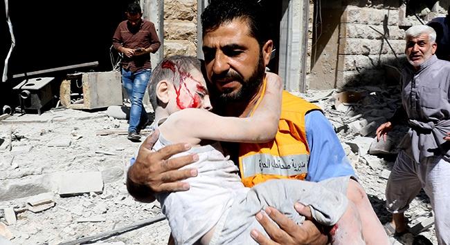 Halepte sivillere saldırılarda acı bilanço artıyor
