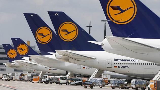 Lufthansa 876 uçuşunu iptal etti