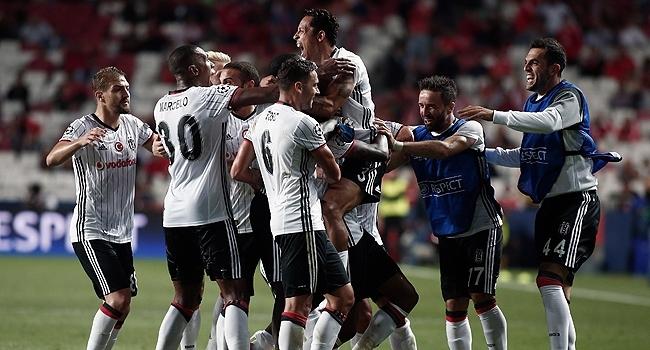 Beşiktaş Avrupa kupalarında 189. maçına çıkıyor
