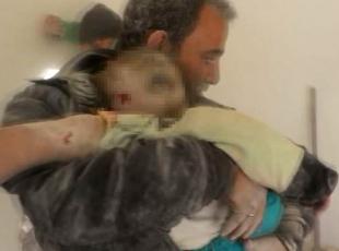 Halep bombardıman altında