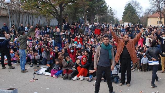 Bulgaristandaki sığınmacı kampında olaylar çıktı