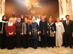 2. Uluslararası Kadın ve Adalet Zirvesi Gala Yemeği