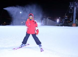 Türkiye'de kayak heyecanı