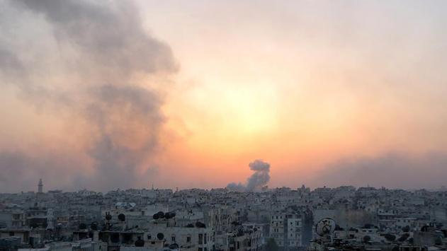 Halepte muhaliflere karşı saldırılar sürüyor
