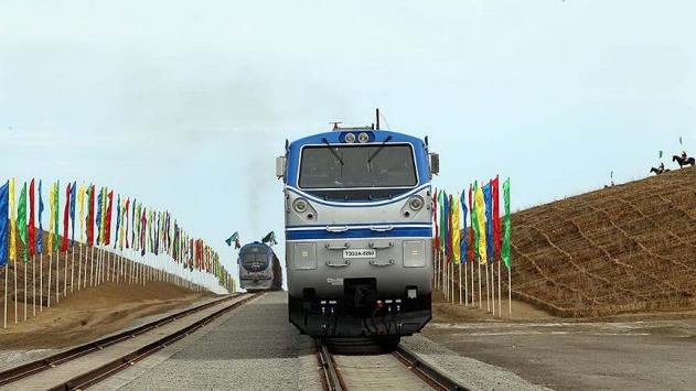 Uluslararası Asya Demiryolu Koridorunun ilk etabı açıldı