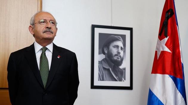 Kılıçdaroğlundan Fidel Castro için Küba büyükelçiliğine taziye ziyareti
