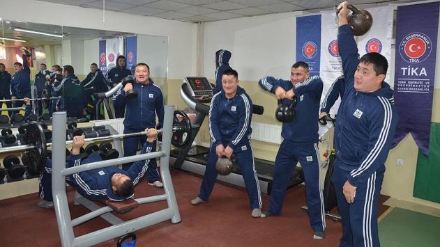 TİKAdan Moğol sporculara destek