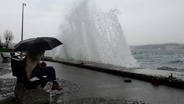 Meteorolojiden kuvvetli fırtına uyarısı