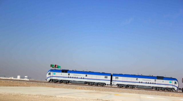 Afganistanı Avrupaya bağlayacak demiryolu hattı açıldı